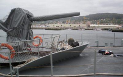 Tecnología española para que los buques de guerra sean invisibles al radar.